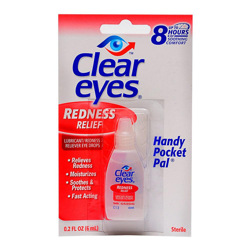 Clear Eyes Redness Relief Drops - 12 Count