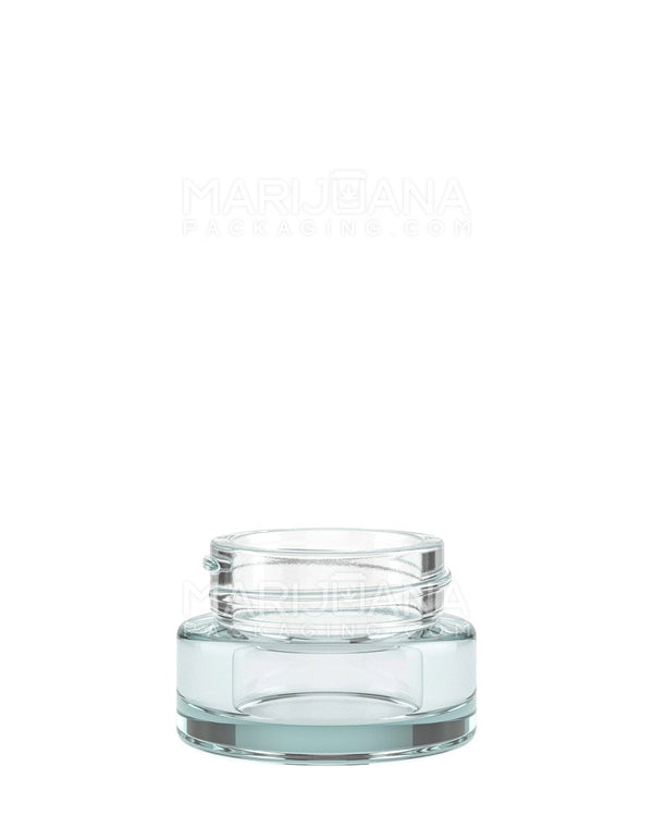 Clear Glass Concentrate Containers | 32mm - 9ml - 320 Count | Dispensary Supply | Marijuana Packaging