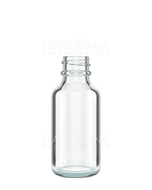 Clear Glass Dropper Bottle 1 oz - 360 Count | Dispensary Supply | Marijuana Packaging