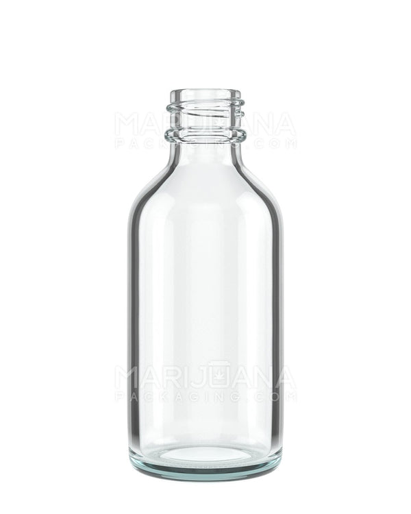 Clear Glass Dropper Bottle 2 oz - 240 Count | Dispensary Supply | Marijuana Packaging