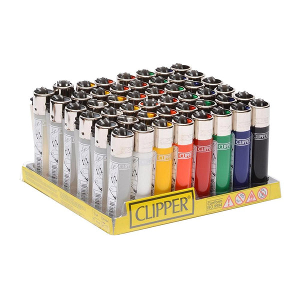 Clipper Lighter Assorted Colors - 48/ct