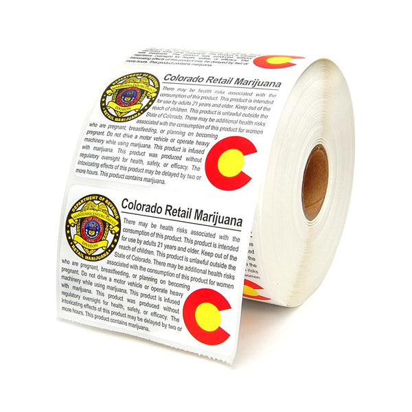 Retail Marijuana Labels - Colorado Compliant