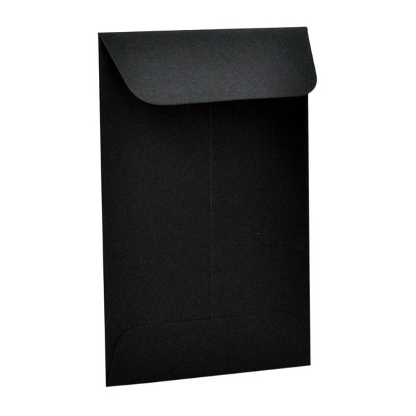 "Black Concentrate Shatter Envelopes 2.25"" x 3.5"" - 500 Count"