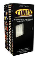 CONES King Size Pre-Rolled Cones | 109mm – Cigarette Paper – 1000 Count | Smoke Shop Supply | Marijuana Packaging