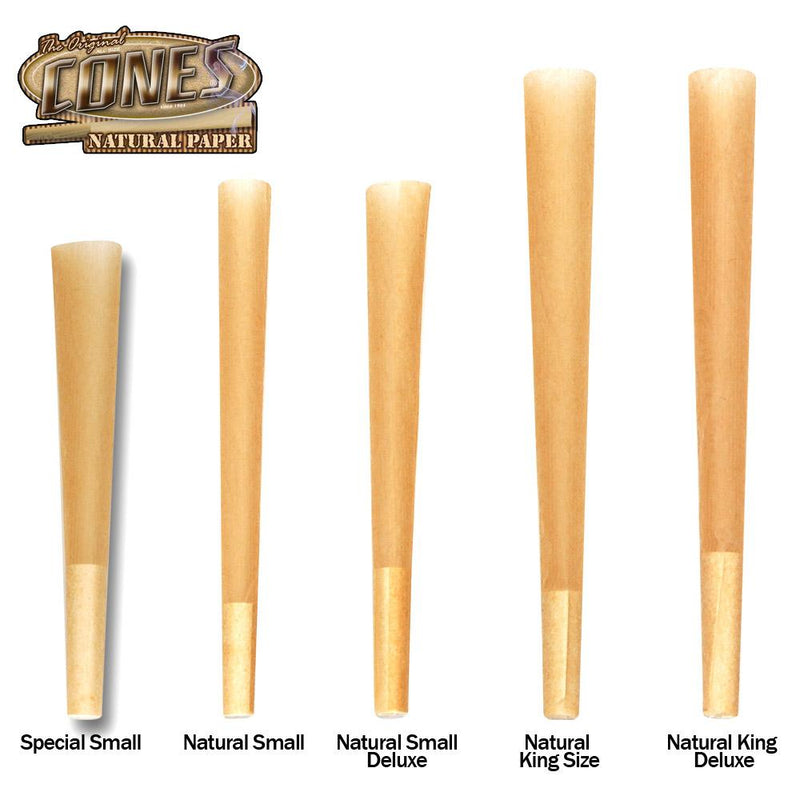 Cones Pre-Rolled Natural Special Small 84 x 26mm