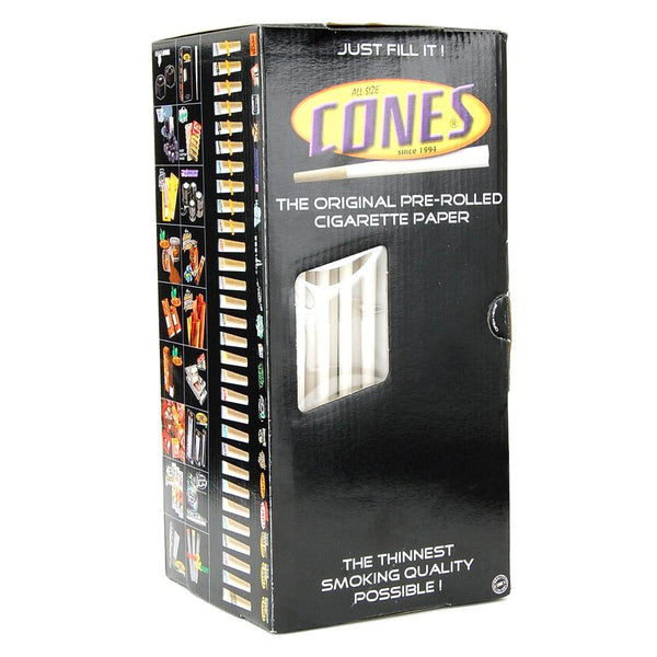 CONES Small Pre-Rolled Cones | 98mm – Cigarette Paper – 1000 Count | Smoke Shop Supply | Marijuana Packaging