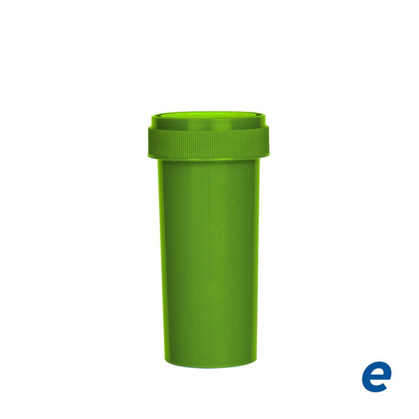 Economy Reversible Cap Vial Opaque Green 30 Dram