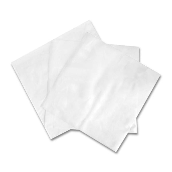 "FEP Clear Non-Stick Sheets - 4""x4"" - 1000 Count"