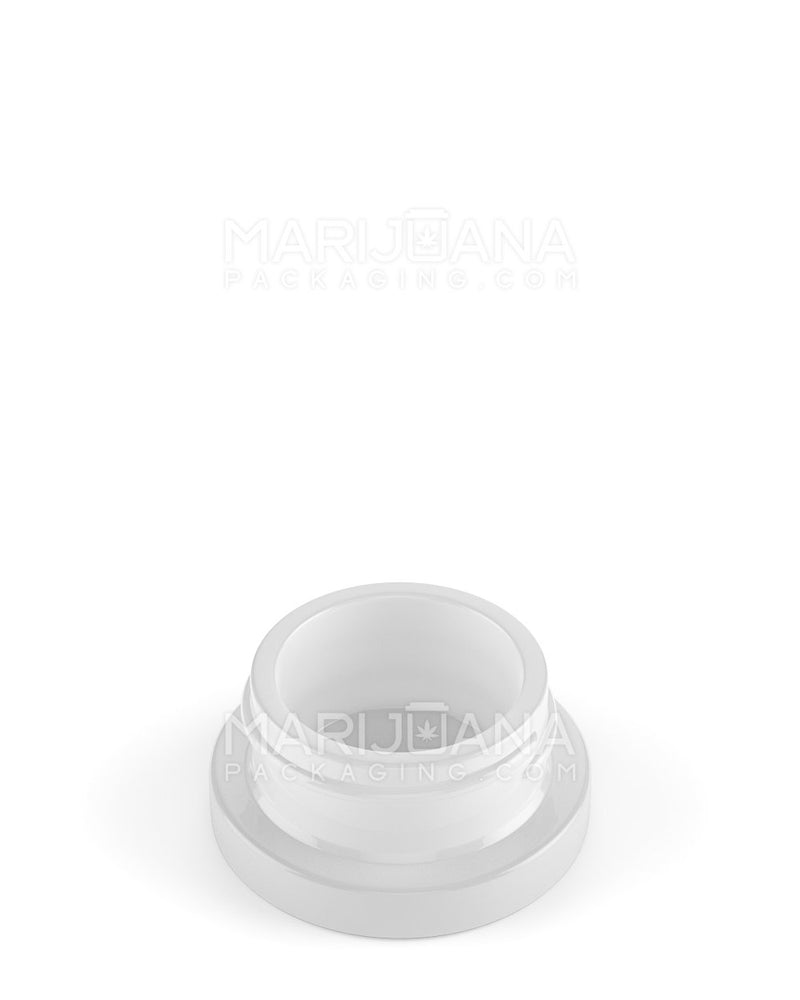 Frosted White Glass Concentrate Containers | 38mm - 9ml - 144 Count | Dispensary Supply | Marijuana Packaging