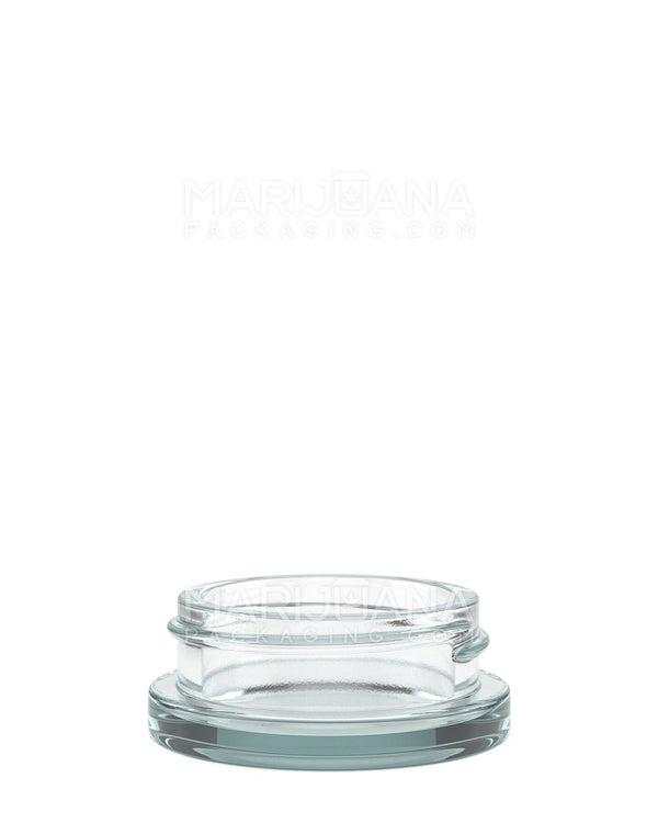 Glass Concentrate Containers | 53mm - 15ml - 240 Count | Dispensary Supply | Marijuana Packaging