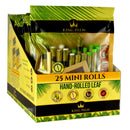 King Palm Wraps Mini Rolls - 25 Count