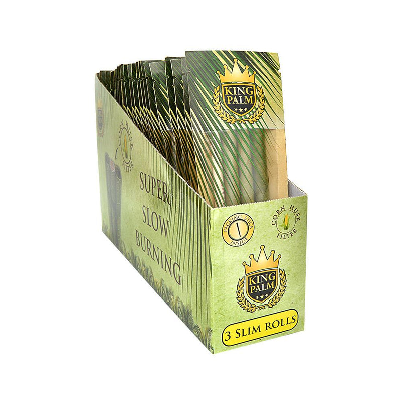 King Palms Natural Leaves Wraps - Slim - 25 Count