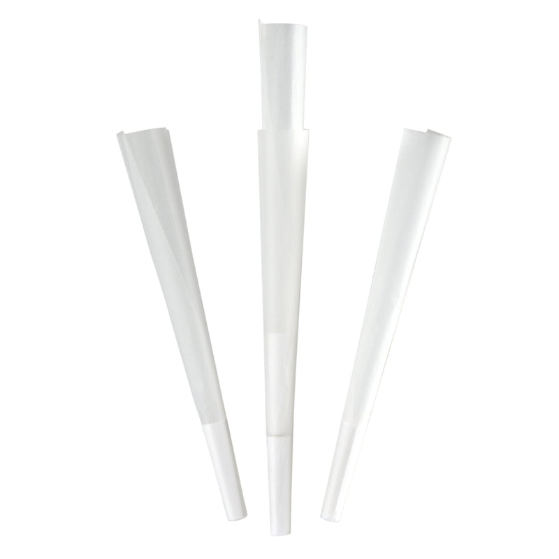 White Pre-Rolled Cones 109mm x 26mm - 800 Count