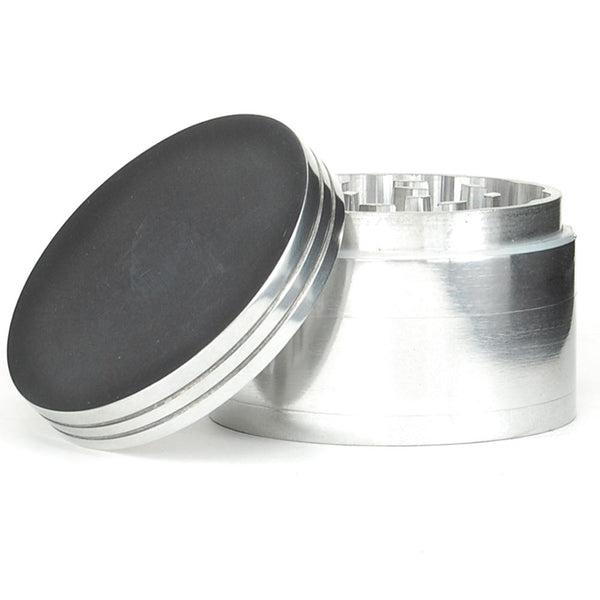 Metal Grinder With Catcher 100mm | Smoke Shop Supply | Marijuana Packaging