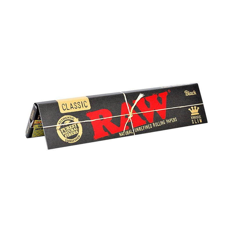 RAW Black Natural Rolling Papers King Size