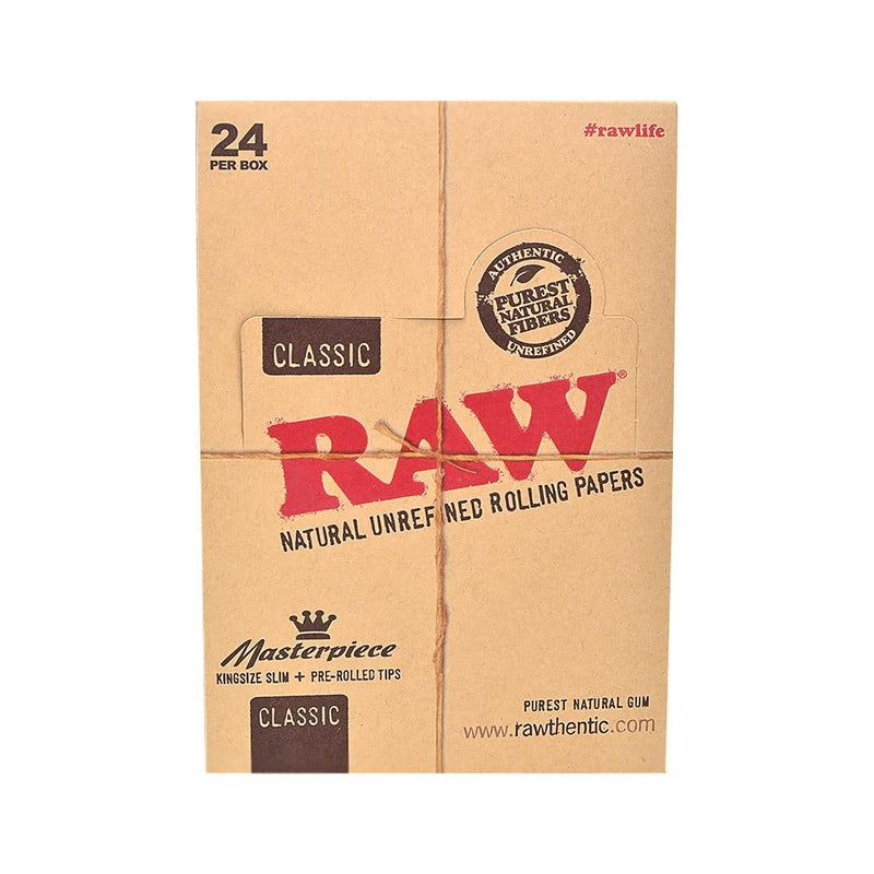 RAW King Size Connoisseur + Pre-Rolled Tips