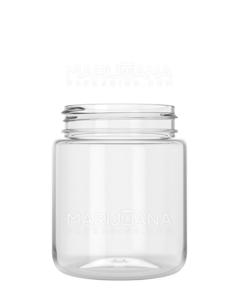 Rounded Base Clear Plastic Jars | 53mm – 5oz - 600 Count | | Marijuana Packaging