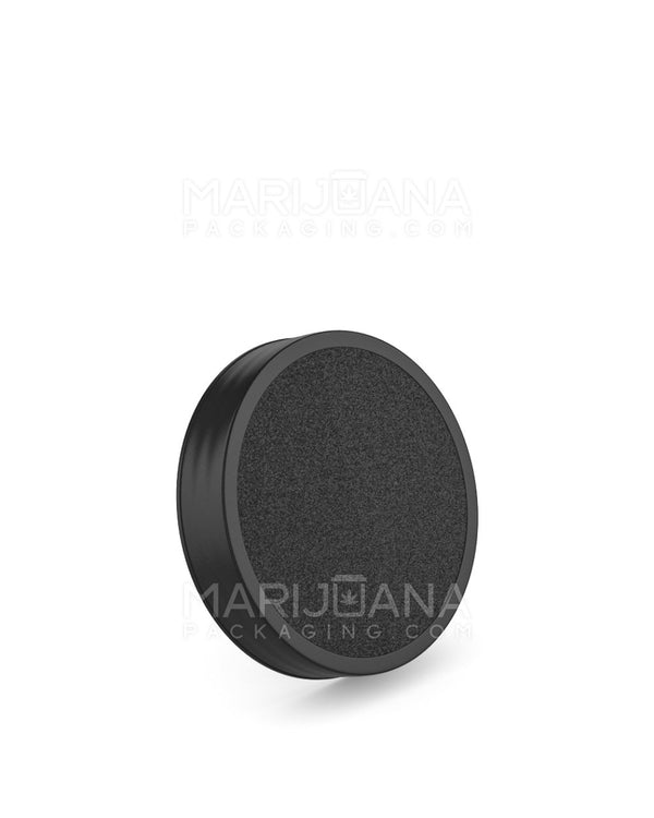 Smooth Screw Top Caps | 53mm - Black Plastic - 150 Count | Dispensary Supply | Marijuana Packaging