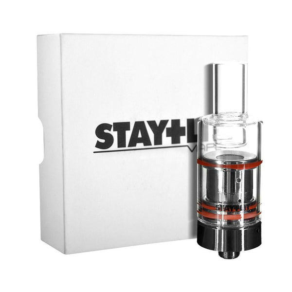 Stay Lit Gun Metal Ceramic & Glass Rod Atomizer Kit
