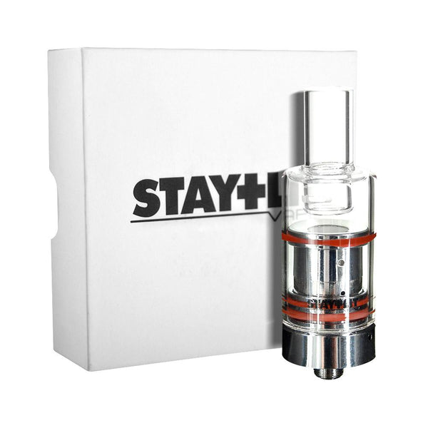 Stay Lit Silver Ceramic & Glass Rod Atomizer Kit