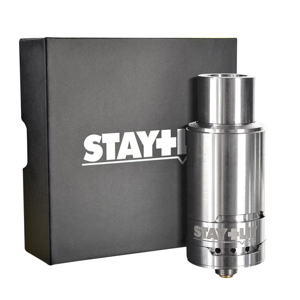 Stay Lit Stainless Glass Cup Atomizer