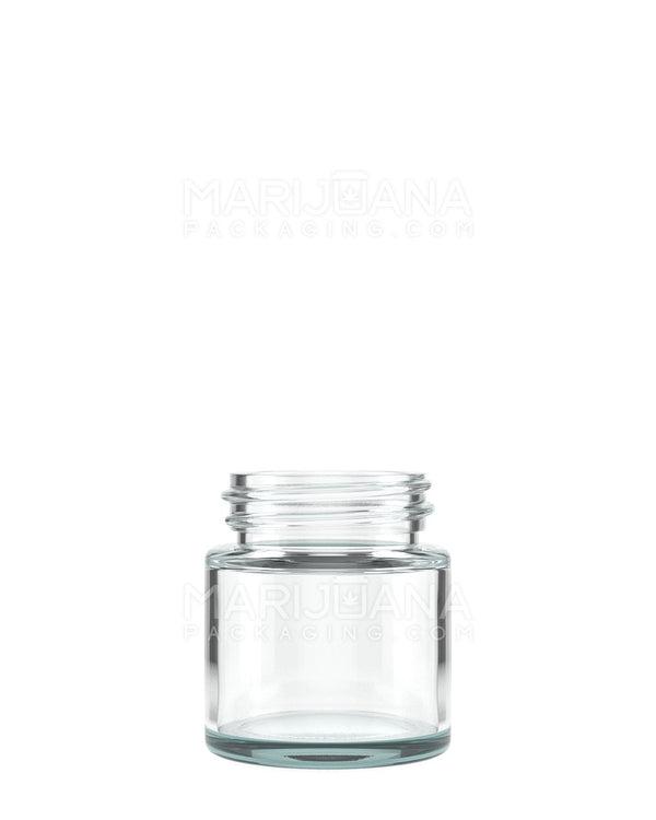 Straight Sided Glass Jars | 38mm - 1oz - 256 Count | Dispensary Supply | Marijuana Packaging