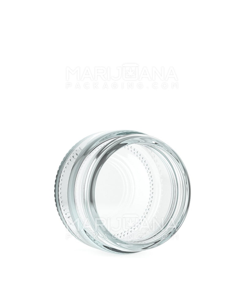 Straight Sided Glass Jars | 48mm - 1oz - 200 Count | Dispensary Supply | Marijuana Packaging