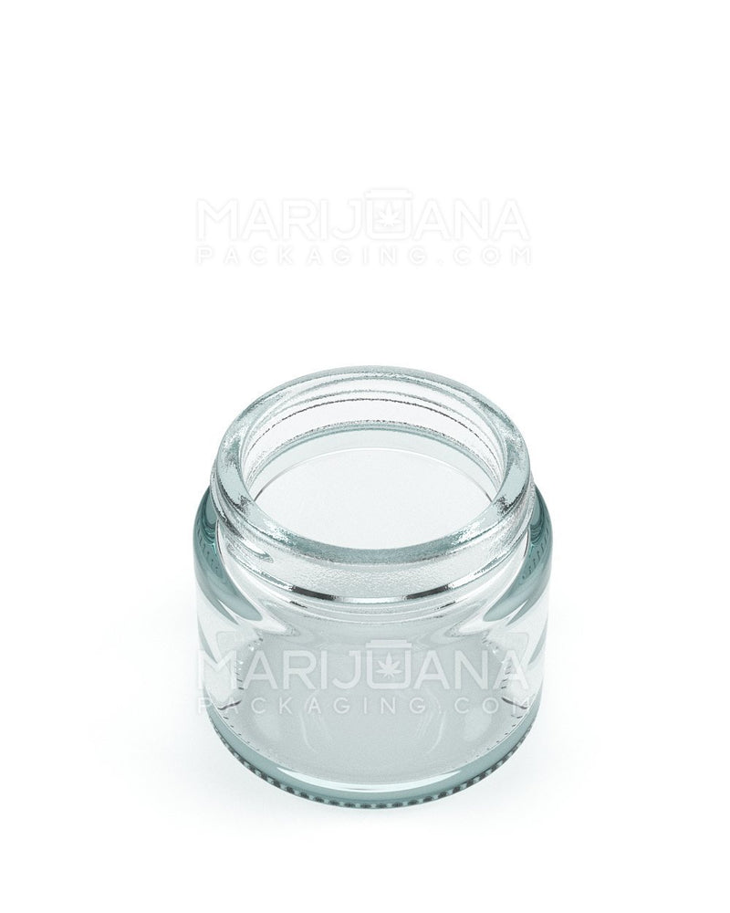 Straight Sided Glass Jars | 48mm - 2oz - 200 Count | Dispensary Supply | Marijuana Packaging