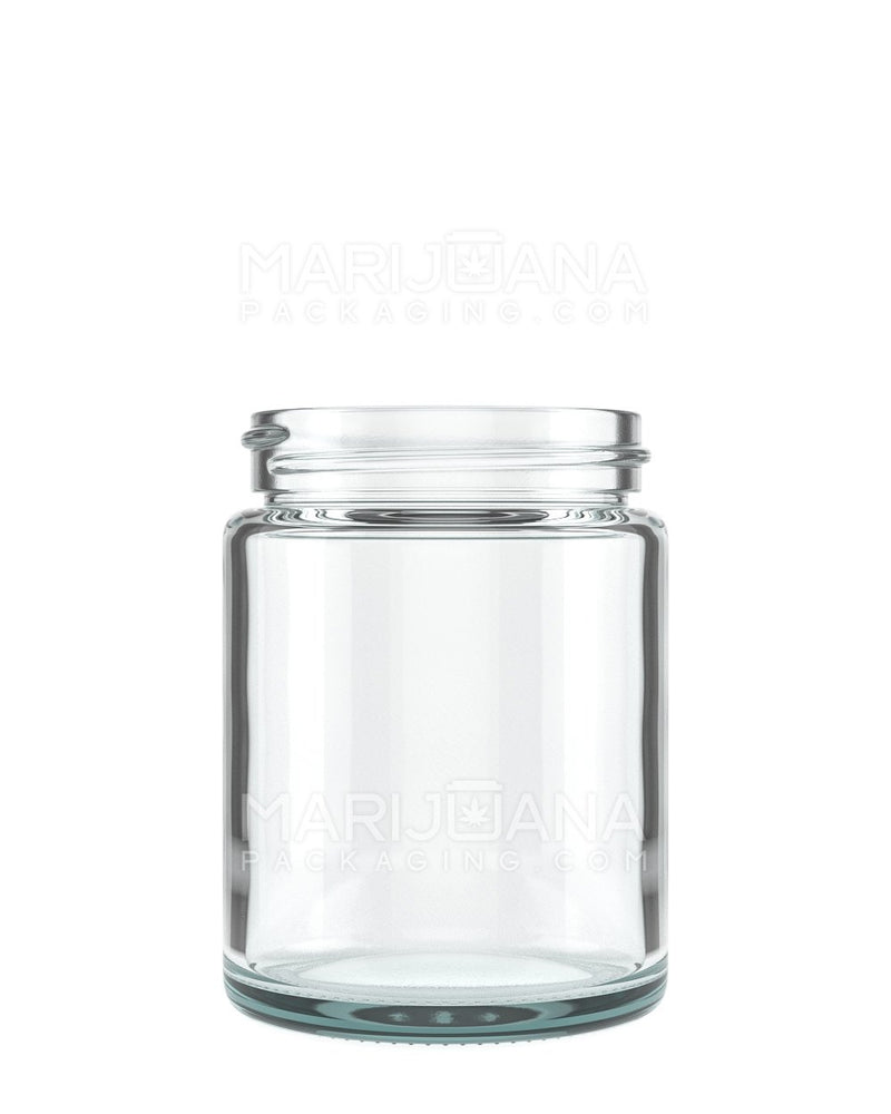 Straight Sided Glass Jars | 48mm - 4oz - 100 Count | Dispensary Supply | Marijuana Packaging