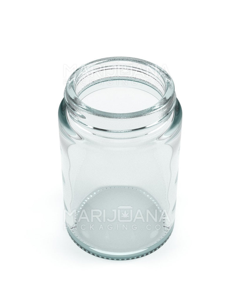 Straight Sided Glass Jars | 48mm - 5oz - 100 Count | Dispensary Supply | Marijuana Packaging