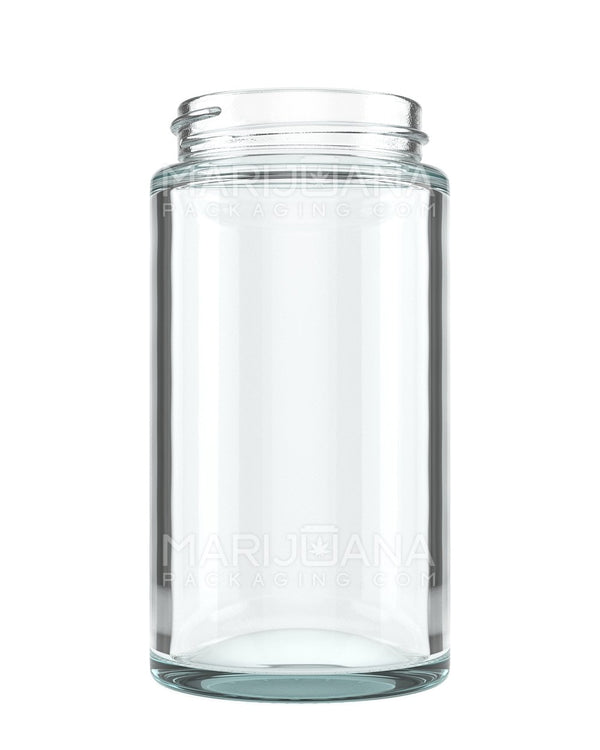Straight Sided Glass Jars | 48mm - 6oz - 80 Count | Dispensary Supply | Marijuana Packaging
