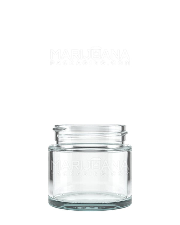 Straight Sided Glass Jars | 50mm - 2oz - 200 Count | Dispensary Supply | Marijuana Packaging