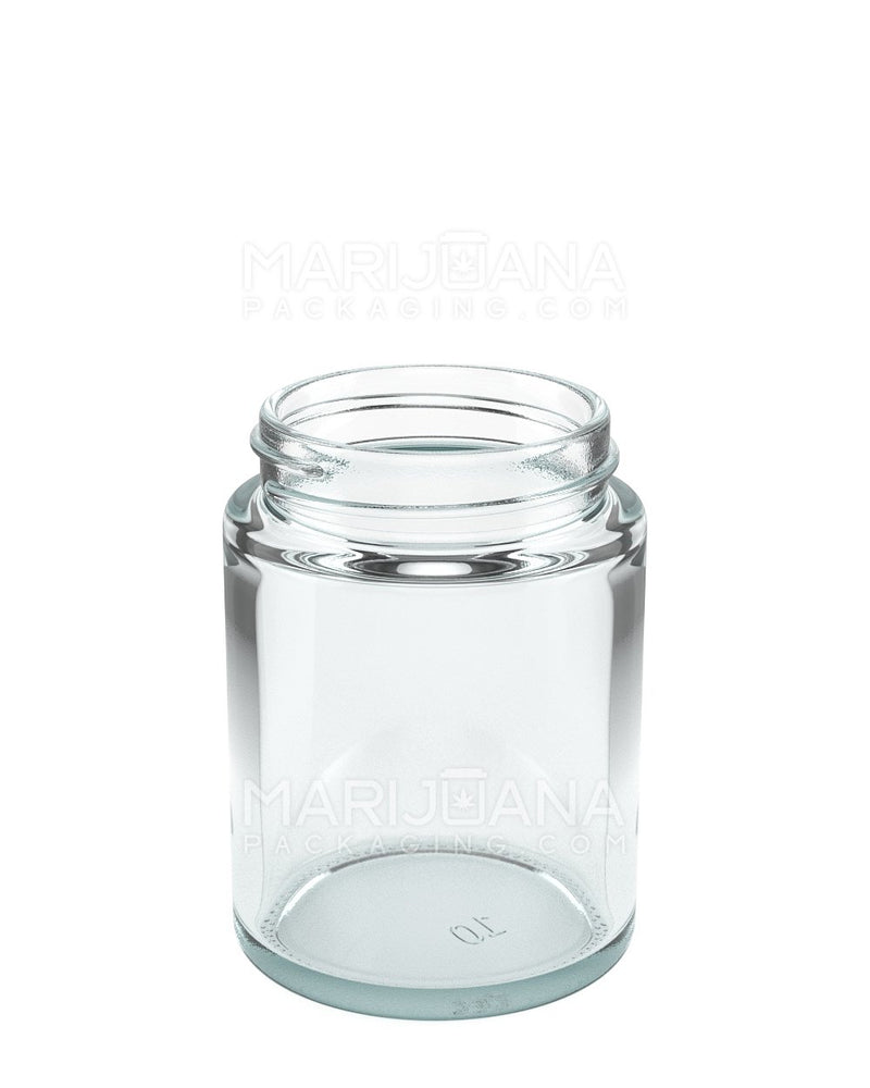 Straight Sided Glass Jars | 50mm - 4oz - 100 Count | Dispensary Supply | Marijuana Packaging