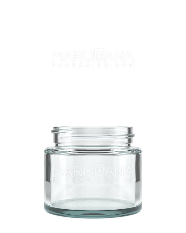 Straight Sided Glass Jars | 53mm - 2.5oz - 32 Count | Dispensary Supply | Marijuana Packaging
