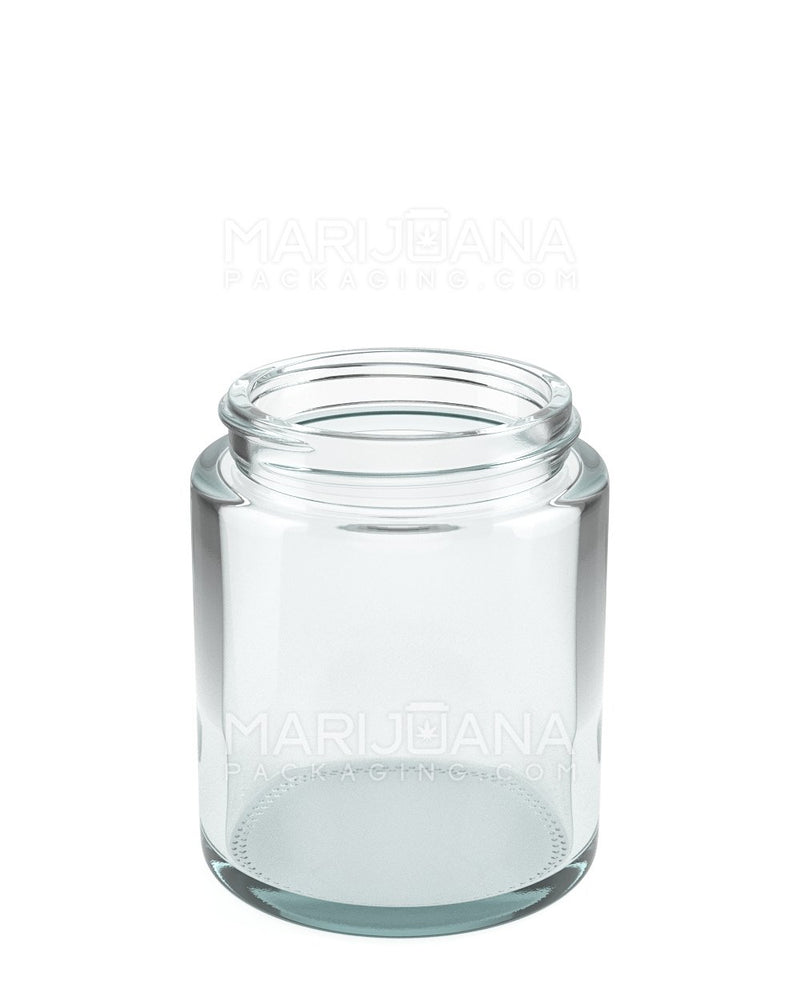 Straight Sided Glass Jars | 53mm - 5oz - 32 Count | Dispensary Supply | Marijuana Packaging