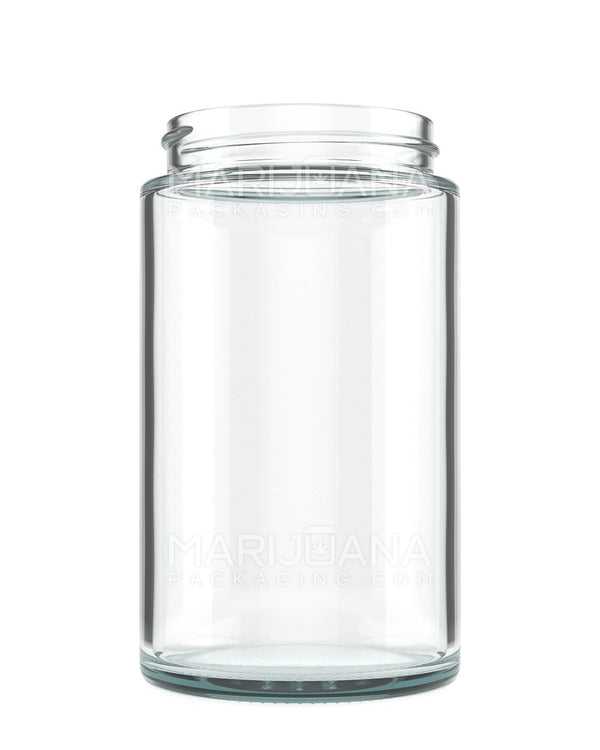 Straight Sided Glass Jars | 57mm - 10oz - 72 Count | Dispensary Supply | Marijuana Packaging