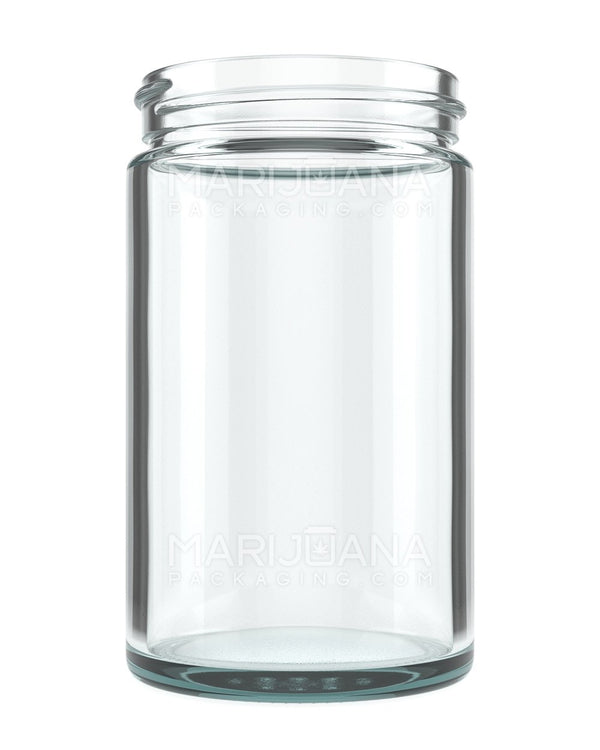 Straight Sided Glass Jars | 63mm - 10oz - 36 Count | Dispensary Supply | Marijuana Packaging