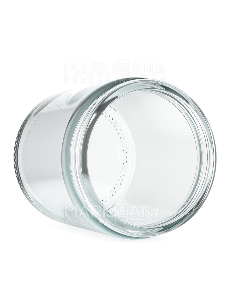 Straight Sided Glass Jars | 70mm - 8oz - 36 Count | Dispensary Supply | Marijuana Packaging