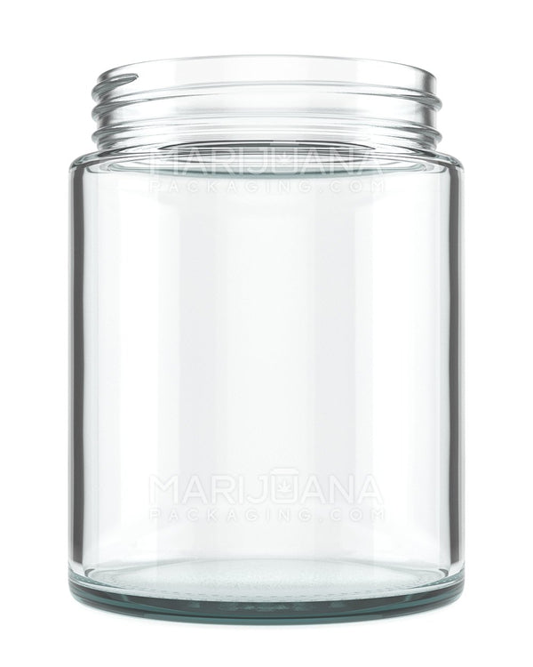 Straight Sided Glass Jars | 78mm - 18oz - 48 Count | Dispensary Supply | Marijuana Packaging