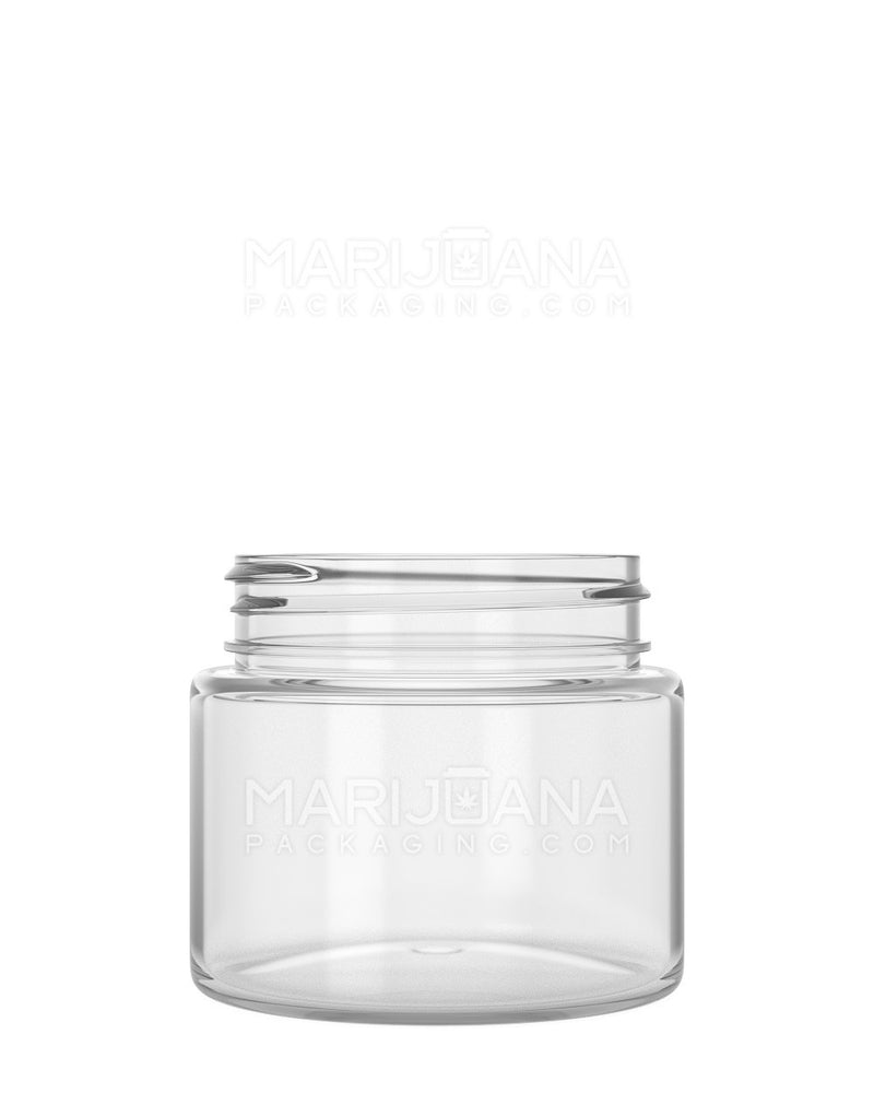 Straight Sided Symmetric Clear Plastic Jars | 53mm - 3.75oz - 600 Count | Dispensary Supply | Marijuana Packaging