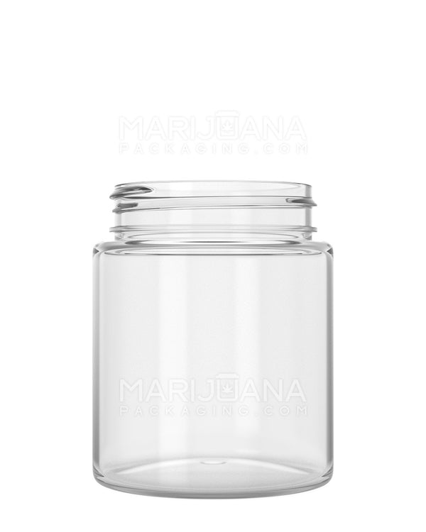 Straight Sided Symmetric Clear Plastic Jars | 53mm - 5oz - 600 Count | Dispensary Supply | Marijuana Packaging