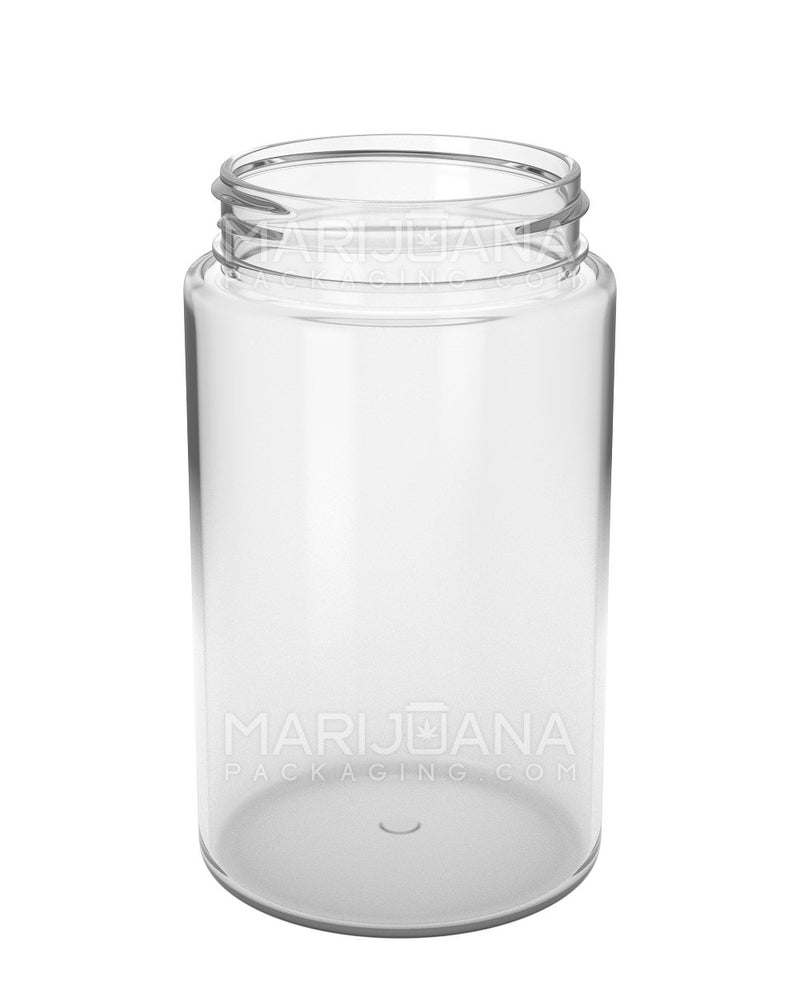 Straight Sided Symmetric Clear Plastic Jars | 53mm - 7.5oz - 300 Count | Dispensary Supply | Marijuana Packaging