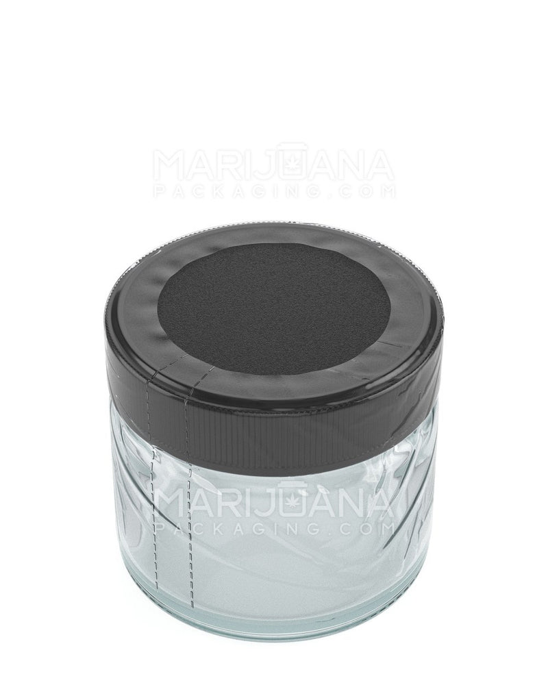 Tamper Evident | Glass Jar Shrink Bands | 2oz - 1000 Count | Dispensary Supply | Marijuana Packaging