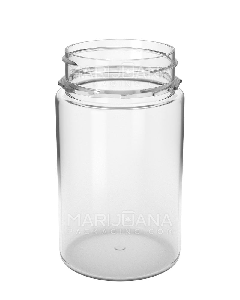 Tamper Evident | Straight Sided Clear Plastic Jars | 53mm - 7.5oz - 300 Count | Dispensary Supply | Marijuana Packaging