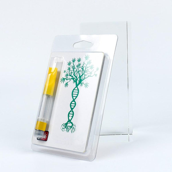 Vape Pen Cartridge Blister Pack w/ Custom Printed Blister Card