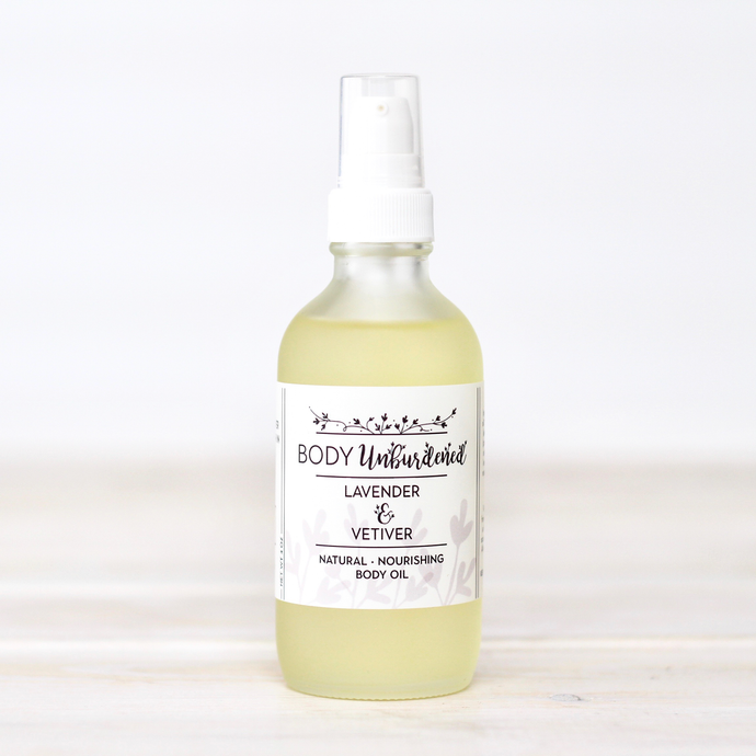 Lavender & Vetiver Body Oil