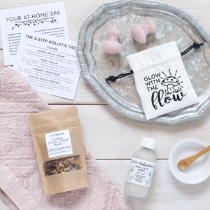 At-Home Spa Kit: Holistic Facial