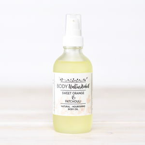 Sweet Orange & Patchouli Body Oil