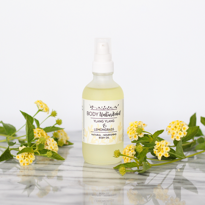 Ylang Ylang & Lemongrass Body Oil