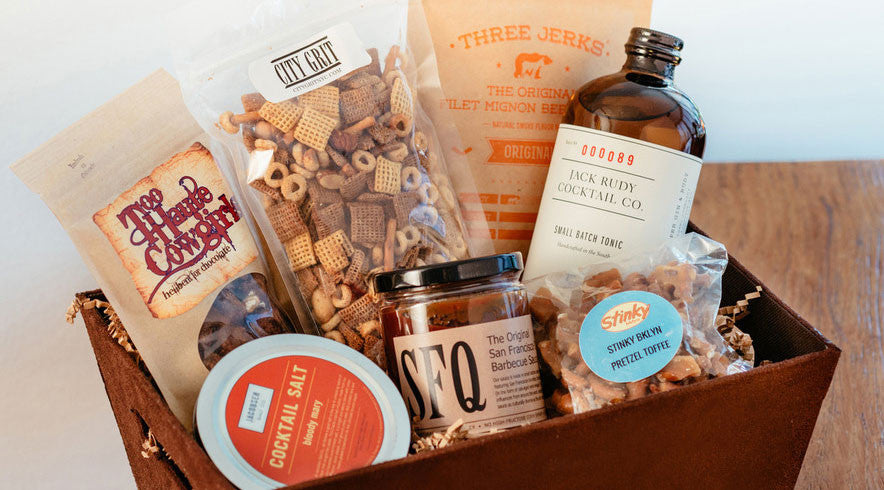 Featured in Williams-Sonoma gift baskets